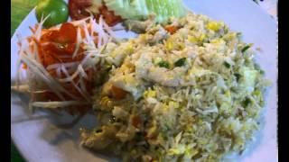 Тайская курица жаренная с рисом (без рецепта)