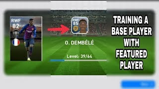 TRAINING BASE PLAYER WITH FEATURED PLAYER || WHAT HAPPENS?? ||