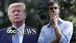 Trump lashes out at O'Rourke ahead of El Paso visit