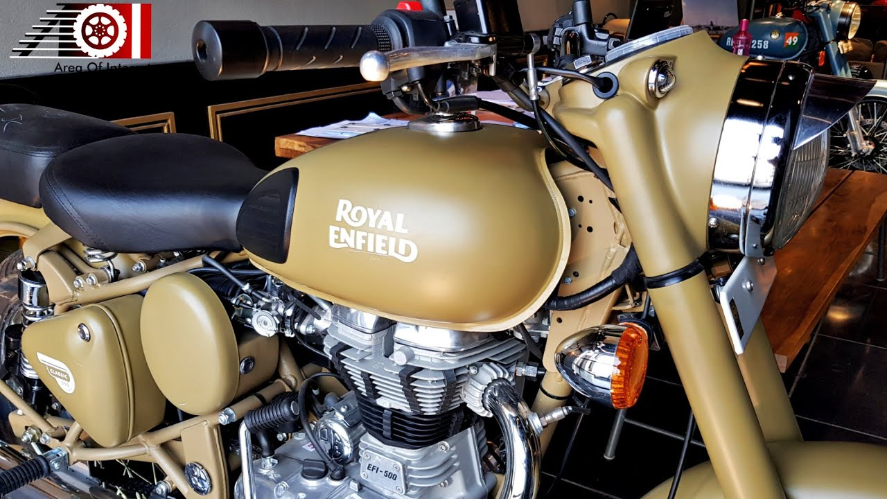 2019 Royal Enfield Classic 500 Abs Desert Storm Price Mileage Features Specs