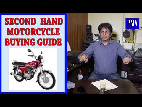 Second Hand Motorcycle Buying Guide 2018
