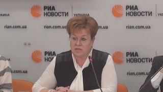 Знаменская  строительство перинатальных центров в Украине нужно возобновить