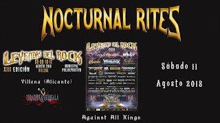 Nocturnal Rites - Still Alive (live XIII Leyendas del Rock 11-08-2018)