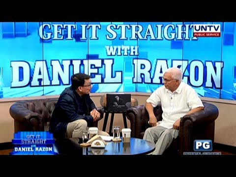 Sec. Jun Evasco on rice smuggling, peace talks and martial law