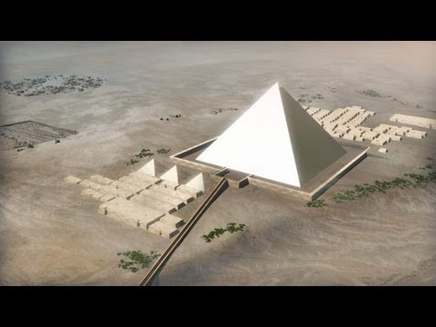 Building the Pyramids of Egypt ...a detailed step by step gu