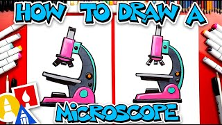 How To Draw A Microscope