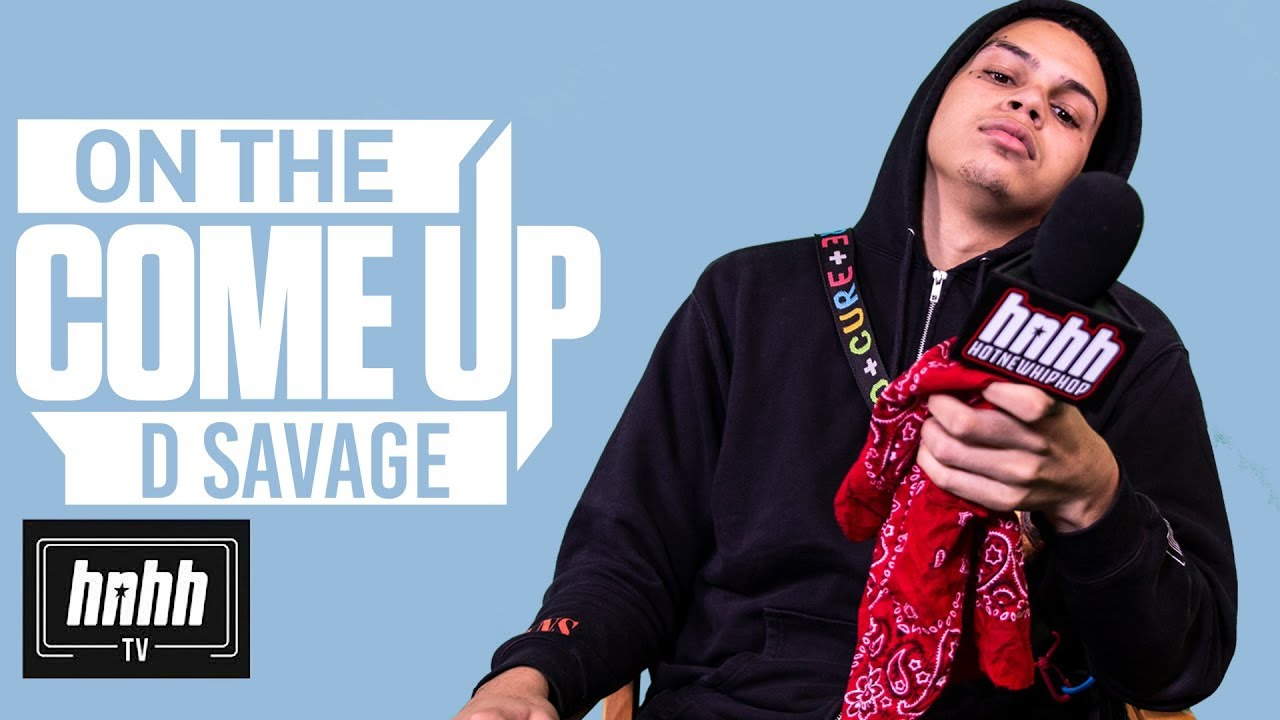 D Savage Talks Juice WRLD, Fame While Still In High School & More (HNHH's On the Come Up)