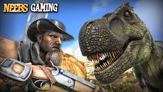 Ark: Survival Evolved - Shotgun vs Trex