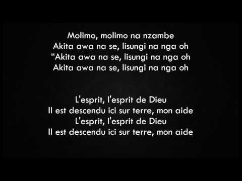 Moise Mbiye - Molimo Paroles lingala/français