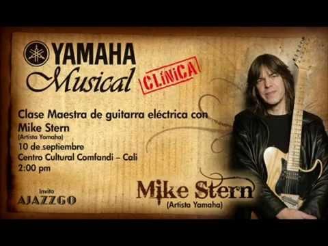 Mike Stern Tom Kenedy Guitar Clinic Yamaha. Cali Colombia.