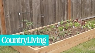 How to Build a Planter Box | Country Living