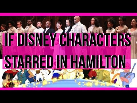 Hamilton Musical: If Disney Characters Starred In Hamilton! | Music With Syd