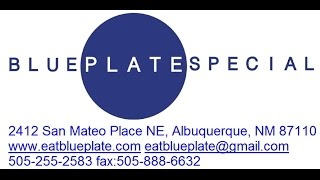 Blue Plate Special Catering Promo