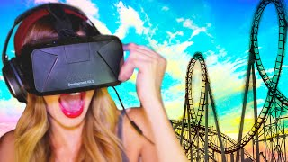 Download RUNNING on a VIRTUAL Roller Coaster | Oculus Rift DK2 Mp3 and Videos