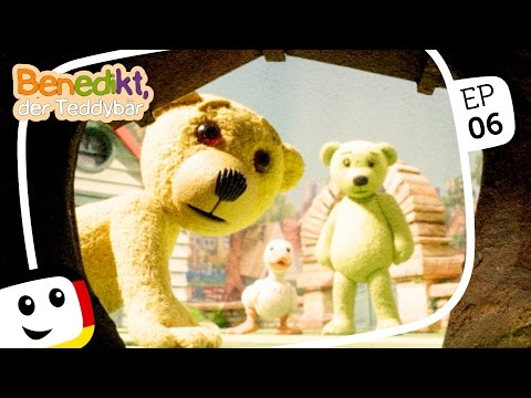 "Benedikt der Teddybär: ""Geisterjäger"" - neue Folgen - Animation Kinderfilme deutsch 2016"