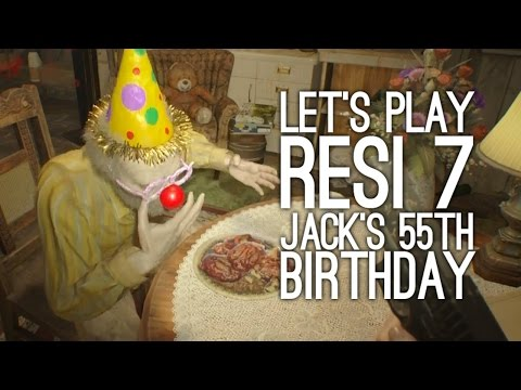 Resident Evil 7 Jack's 55th Birthday Gameplay: Let's Play Jack's 55th Birthday - SPICY CHICKEN