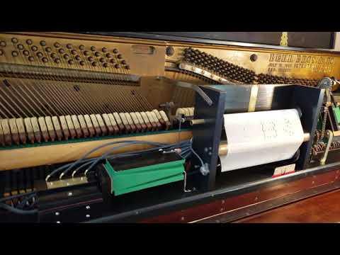 'Beer Barrel Polka' on a 1916 Behr Bros. Player Piano