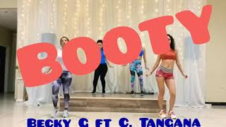 BOOTY-Becky G ft C. Tangana-Cardio Dance Fitness choreography