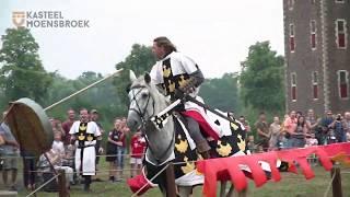 Ridders te paard bij Kasteel Hoensbroek