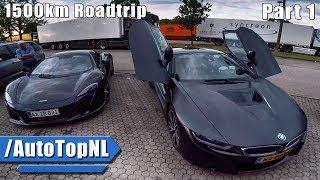BMW i8 1500KM ROAD TRIP PART 1/3 by AutoTopNL