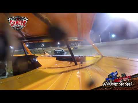 #6 Jimmy Halford - Crate - 7-27-19 Camden Speedway - in-Car Camera