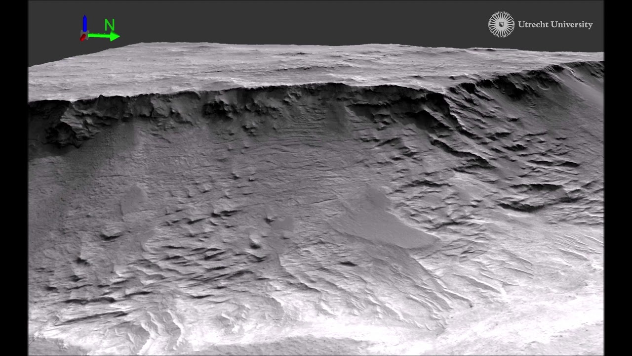 Evidence of rivers in long-term action on Mars: detail