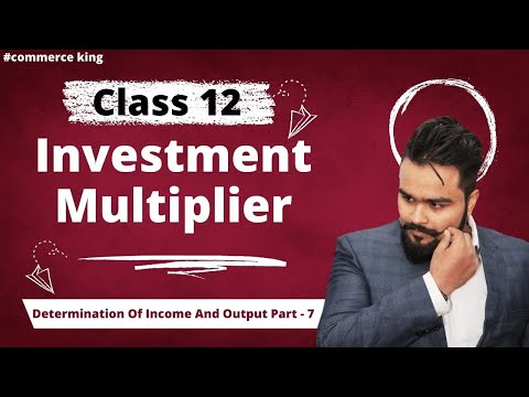 #66, Concepts of investment multiplier(Class 12 macroeconomics)