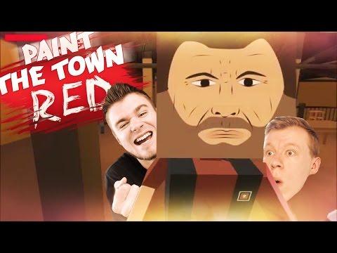 ZWYKŁY DZIEŃ W BARZE! | Paint The Town Red [#1] (With: Plaga) #Bladii