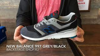New Balance 997 Grey Black