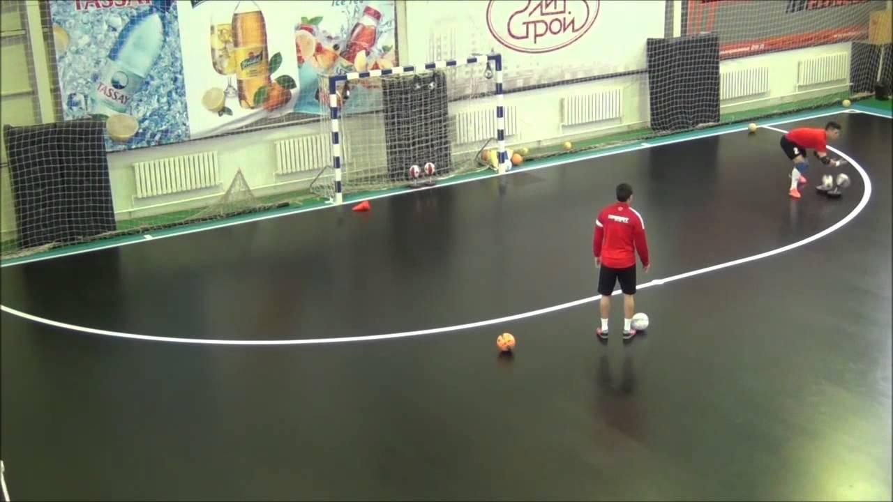 Entrenamiento portero Futsal - YouTube 43e65ee7ac299