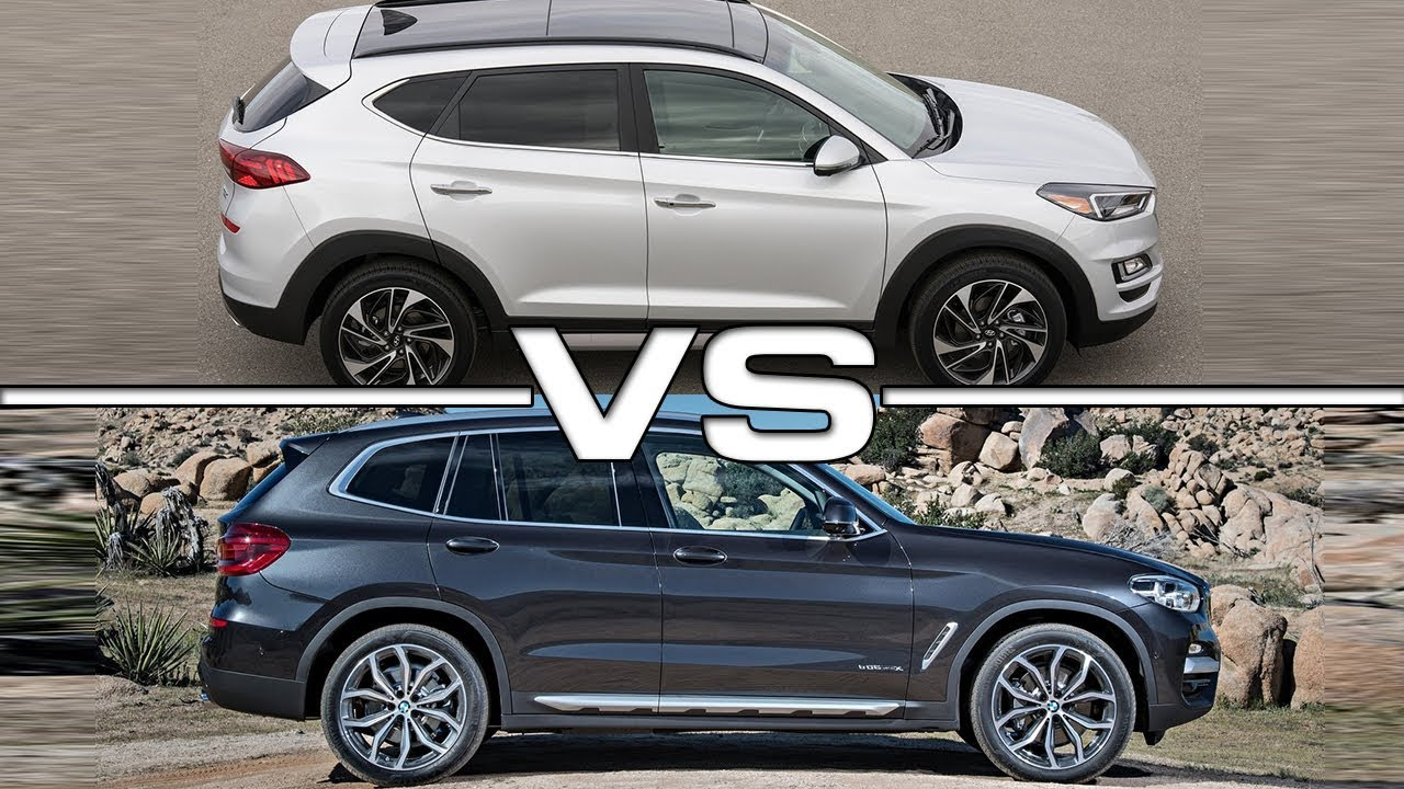BMW Of Tucson >> 2019 Hyundai Tucson Vs 2018 Bmw X3