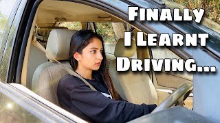 How I fought my Driving Anxiety | Ishaani Krishna.