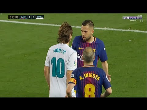 Luka Modric vs Fc Barcelona Away (06/05/2018) 1080i