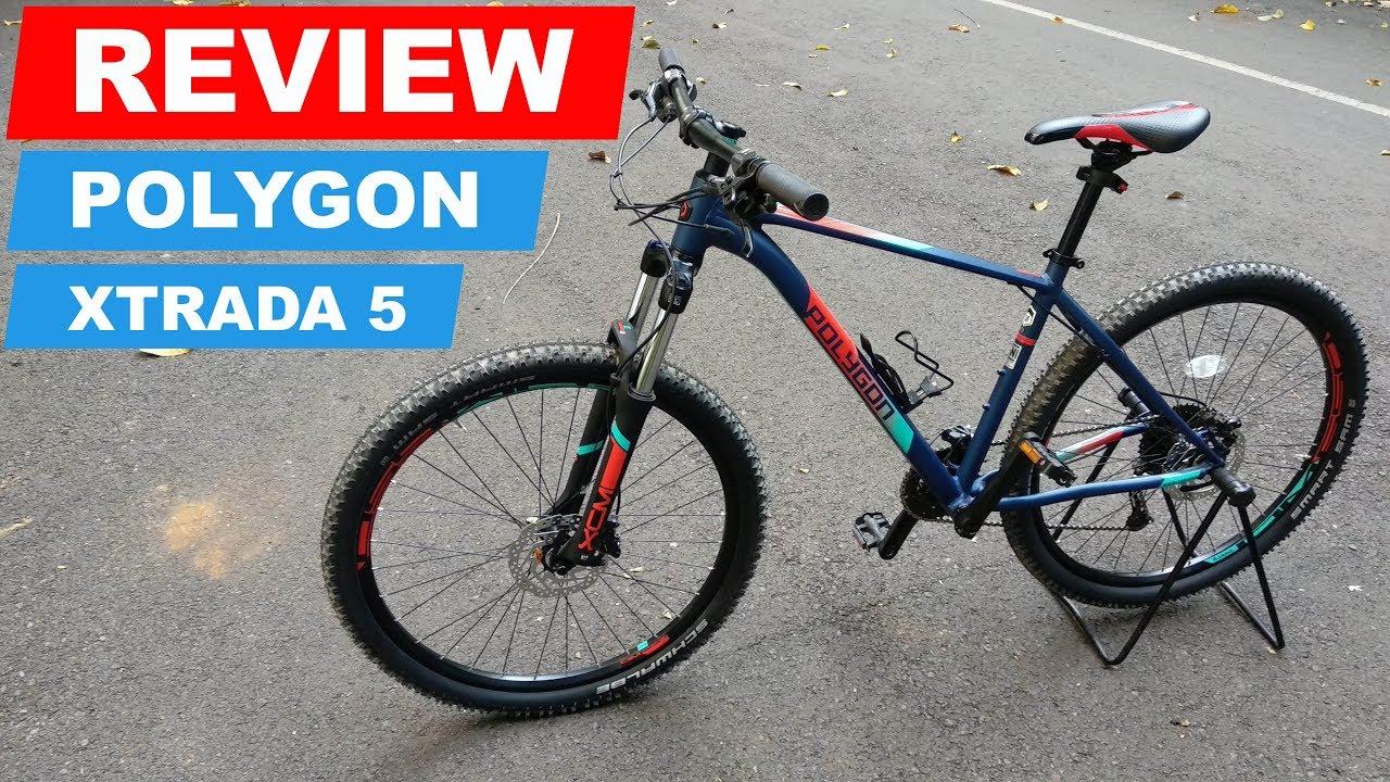 Review Polygon Xtrada 5 New 2018 Spesifikasi Komponen