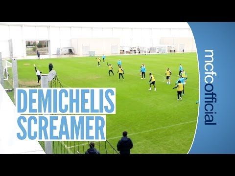Martin Demichelis Scores This Wonder Goal in Training