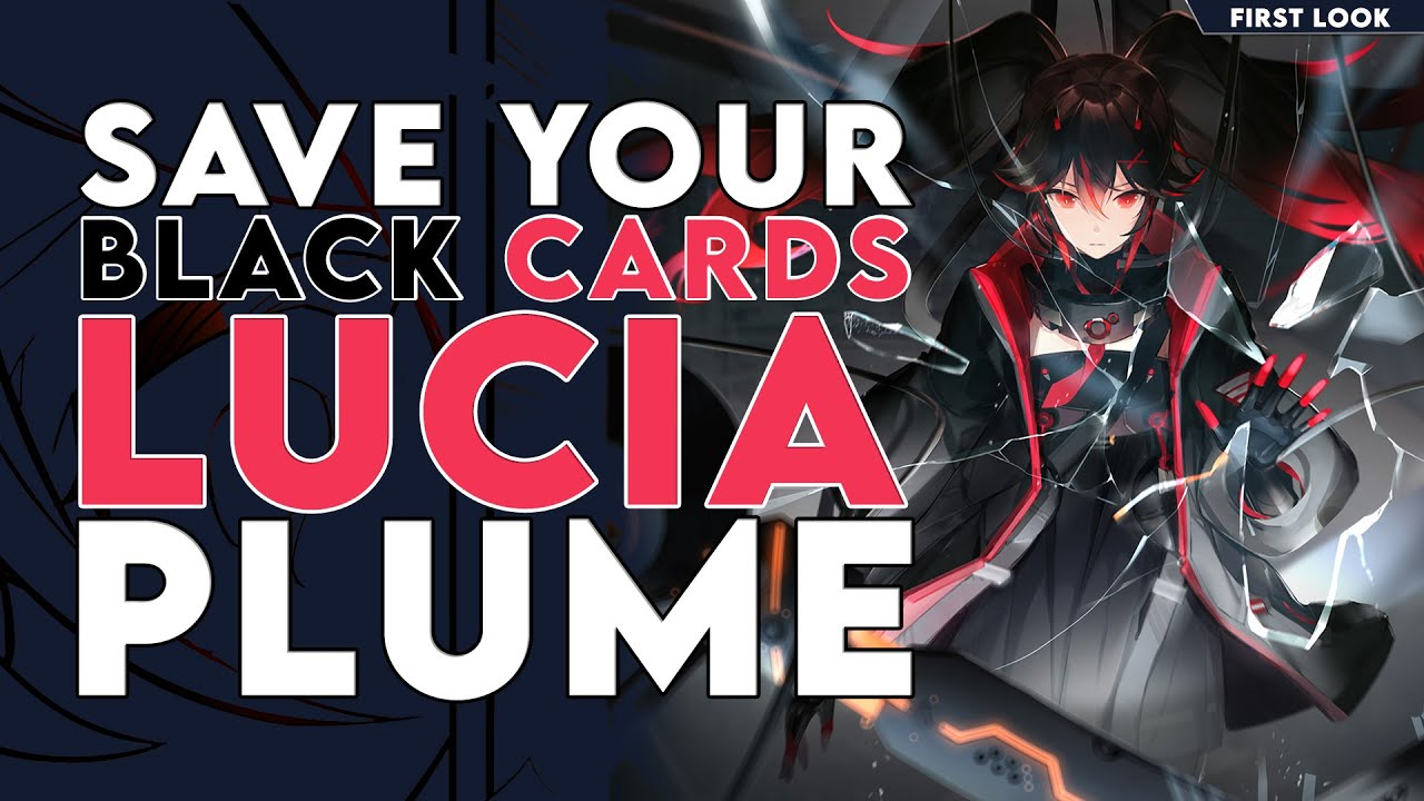 Download ICE ELEMENTAL LUCIA (PLUME) IS NEXT! (SAVE YOUR BLACK CARDS EP. 3) | Punishing: Gray Raven (战双帕弥什)