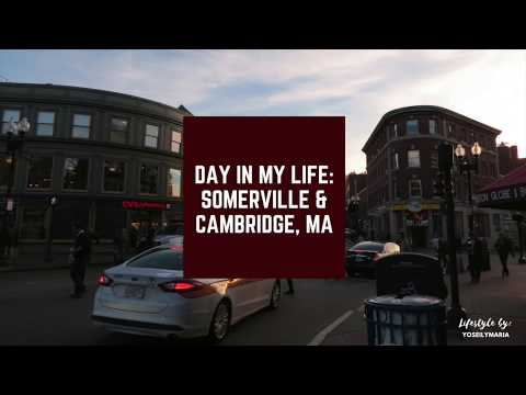 DAY IN MY LIFE: Somerville/Cambridge MA