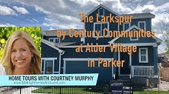 New Homes in Parker Colorado -Larkspur Model by Century Communities