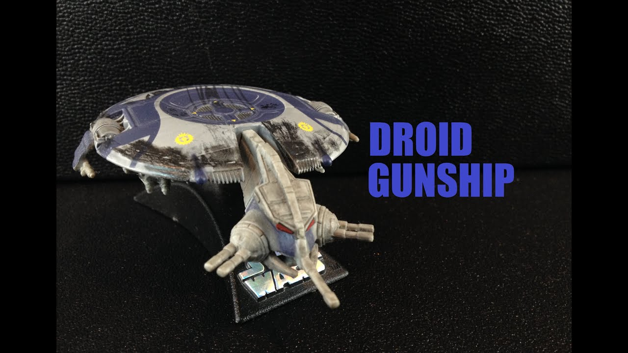 Droid gunship confirmed to be the droid transport ...