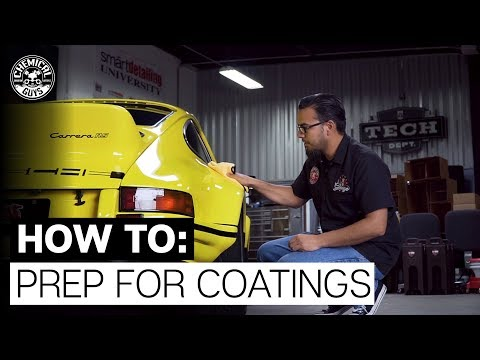 How to Prepare for A Ceramic Coating  - Chemical Guys Prep