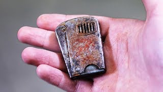 Download Old rusty squeeze lighter restoration. Got FOOLED on ebay Mp3 and Videos