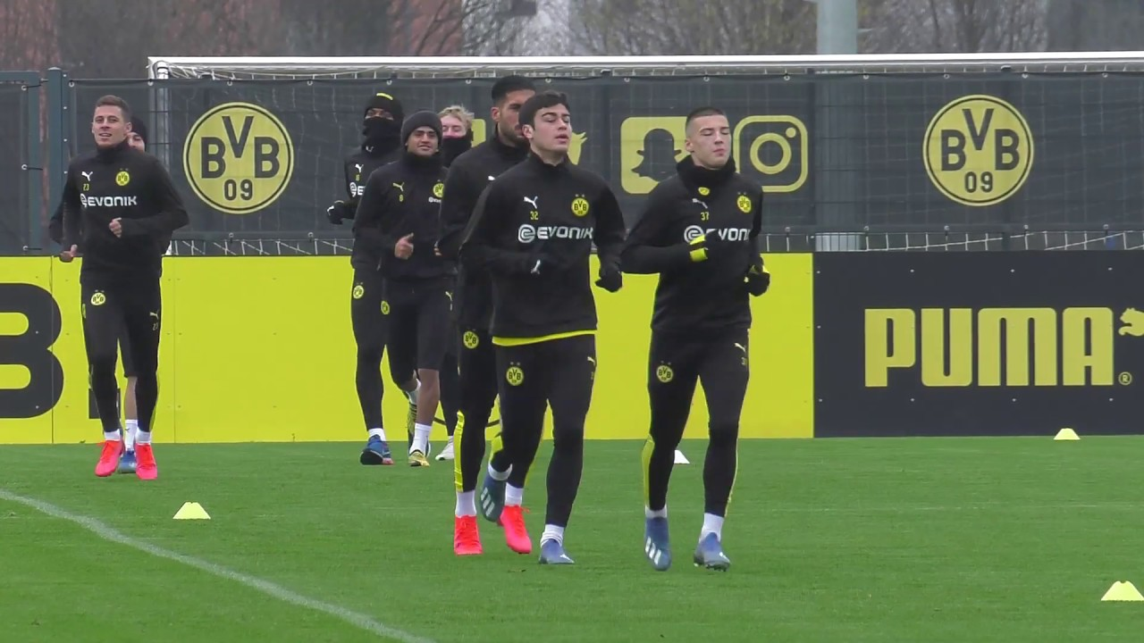 BVB-Training vom 06.02.2020