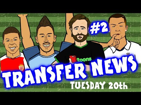 TRANSFER NEWS #2! (Feat. Ronaldo, Aubameyang, Mbappe and more!)
