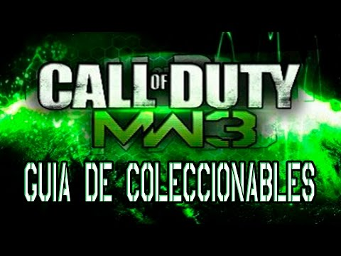 Call of Duty: Modern Warfare 3 - Guía de Coleccionables / All collectible locations