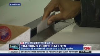 Ohio's 18 electoral votes are up for grabs