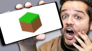 Trying out Minecraft's NEWEST GAME. . .