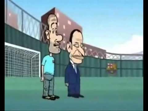 Messi vs CR7 en 'Marcatoons'