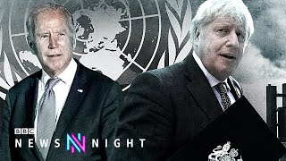 Will there ever be a post-Brexit US-UK trade deal? - BBC Newsnight