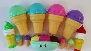 Ice cream &amp cake Squishies Crazy Candy Smooshy Mushy