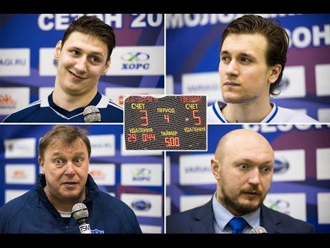 Территория КХЛ. Плей-офф. Противостояние СКА - Локомотив (26 марта 2014)